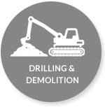 drilling and demolition